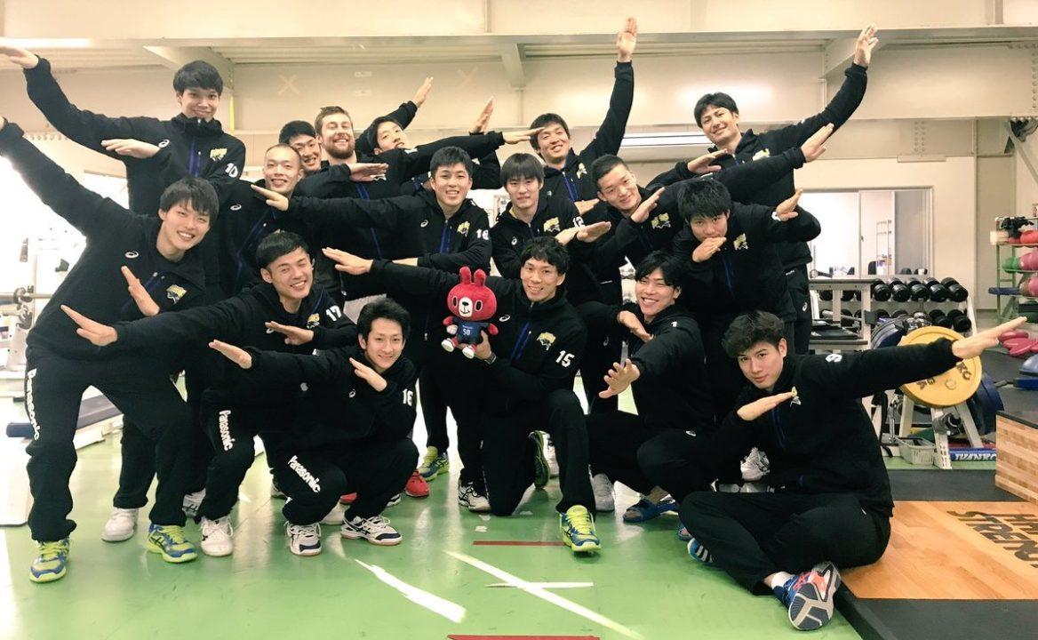Japan Men: Panasonic top Toray, lead by 4 games