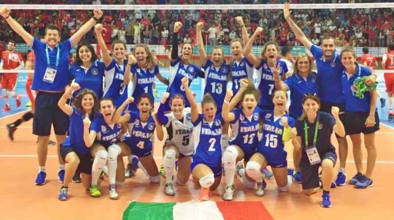 Italy's Deaf Team Named Gazzetta's Paralympic Team Of The Year
