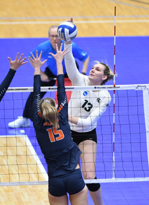 Former Michigan State Hitter Brooke Kranda Opens Pro Career With Foton