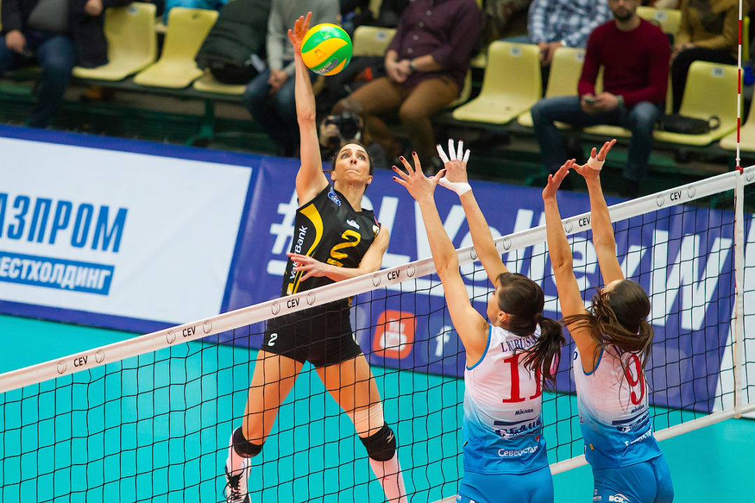 VakifBank Remains Unbeaten In Pool D With Sweep Over Dinamo Moscow