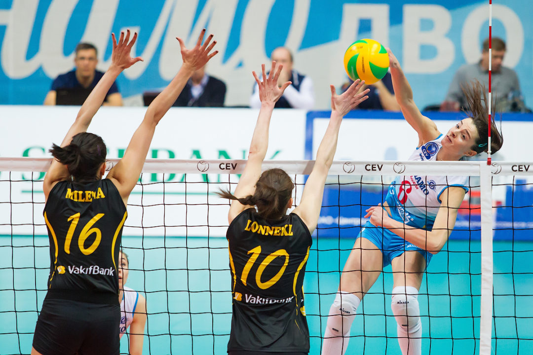 Volero Zurich Bounces Back With Sweep In Champions League