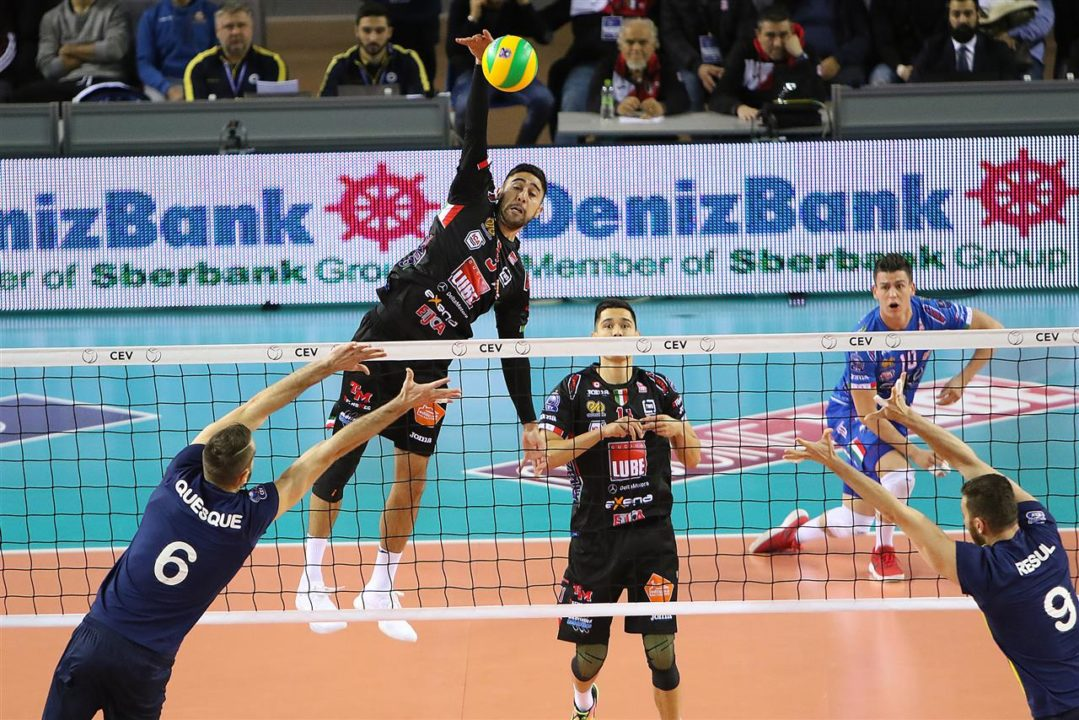 SuperLega Teams Sweep Their Round 3 Champion's League Matchups