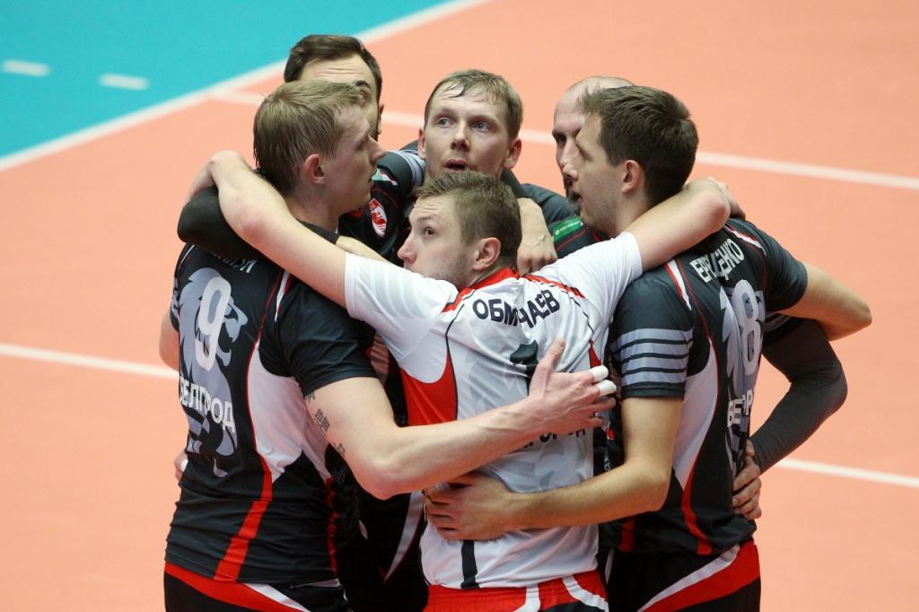Russian Men: Belogorie Earns Big Win, Faces Zenit-Kazan Next