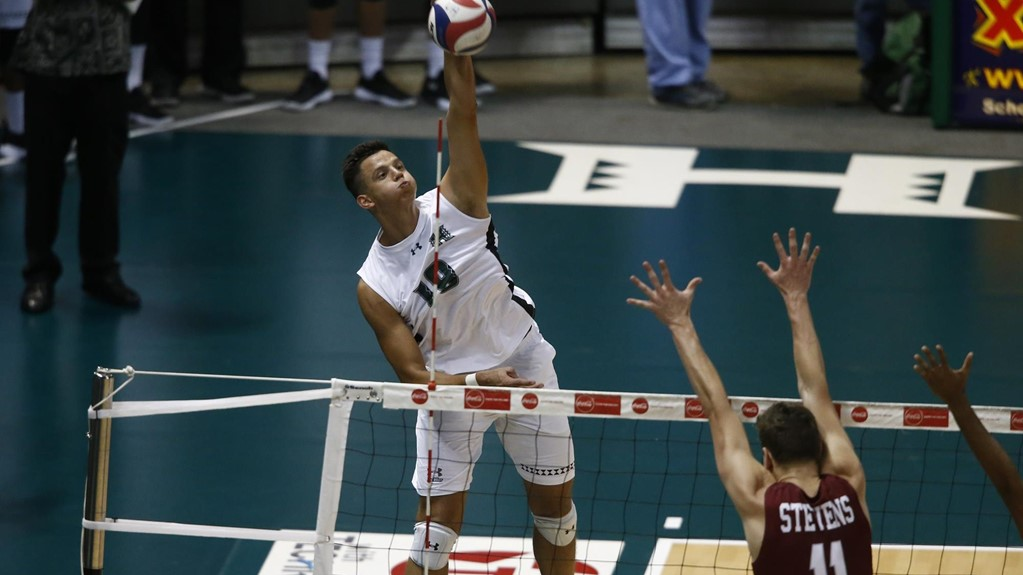 Hawaii Opens Season With Convincing Sweep Over Stevens Institute