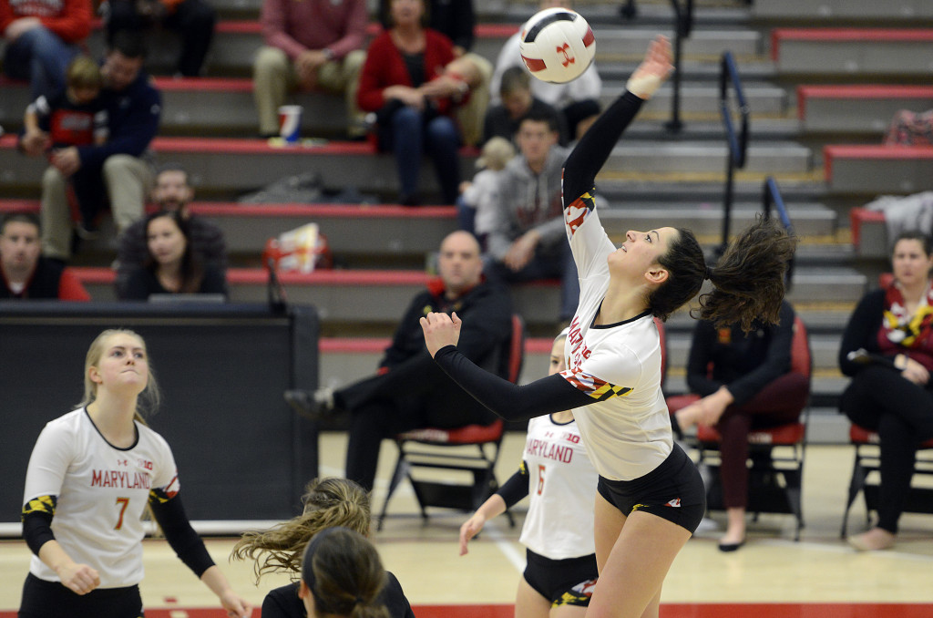 Maryland's 2017 Kills Leader Gia Milana Transferring to Baylor
