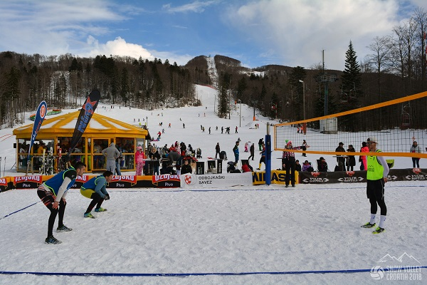Croatia Snow Volleyball National Championships Conclude