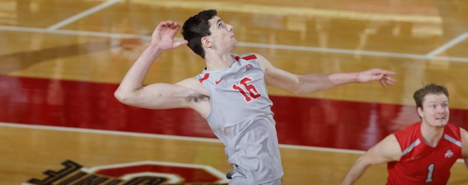 OSU's Jake Hanes Rides Big Win to VolleyMob Player of the Week Honors