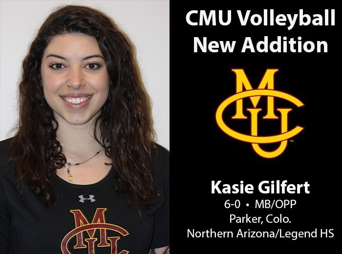 Northern Arizona MB/RS Kasie Gilfert Transfers to Colorado Mesa