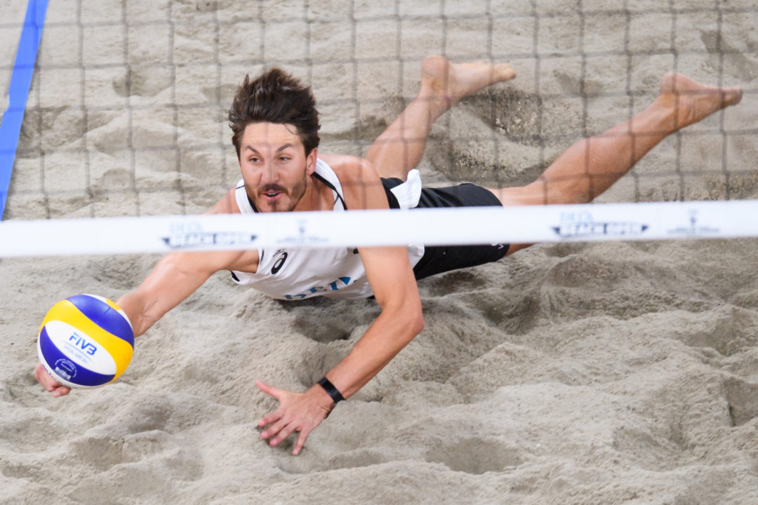 10 Questions with Up-and-Coming American Beach Player Miles Evans