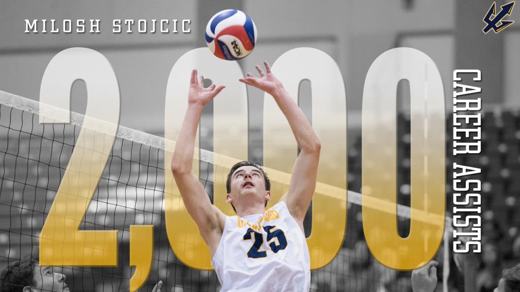 UC San Diego's Milosh Stojcic Reaches 2000 Career Assists