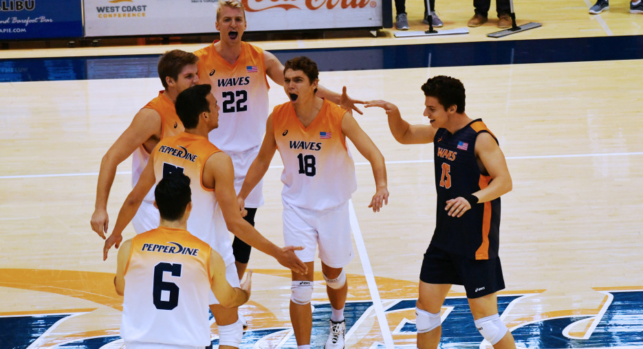 A Healthier Pepperdine Making Moves; VolleyMob Men's Top 20 Power Rankings (Week 8)