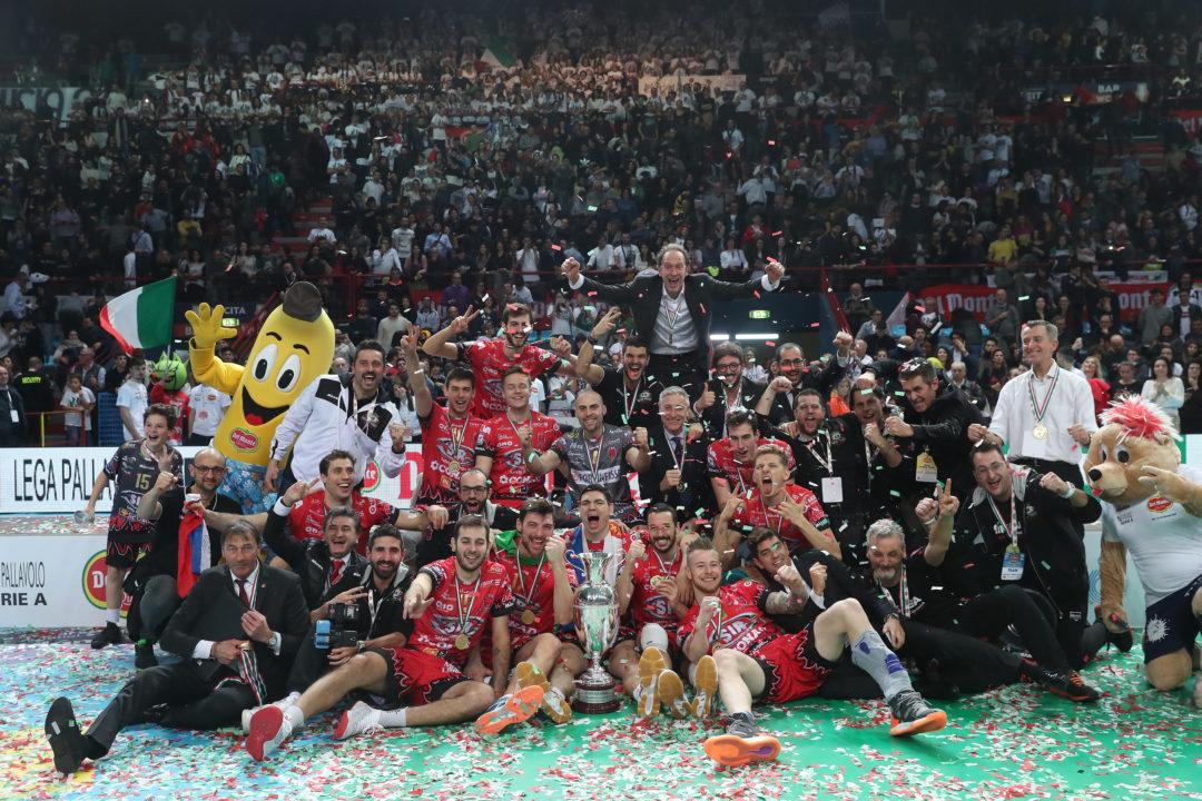 Perugia Wins First Italian Cup over Lube Civitanova