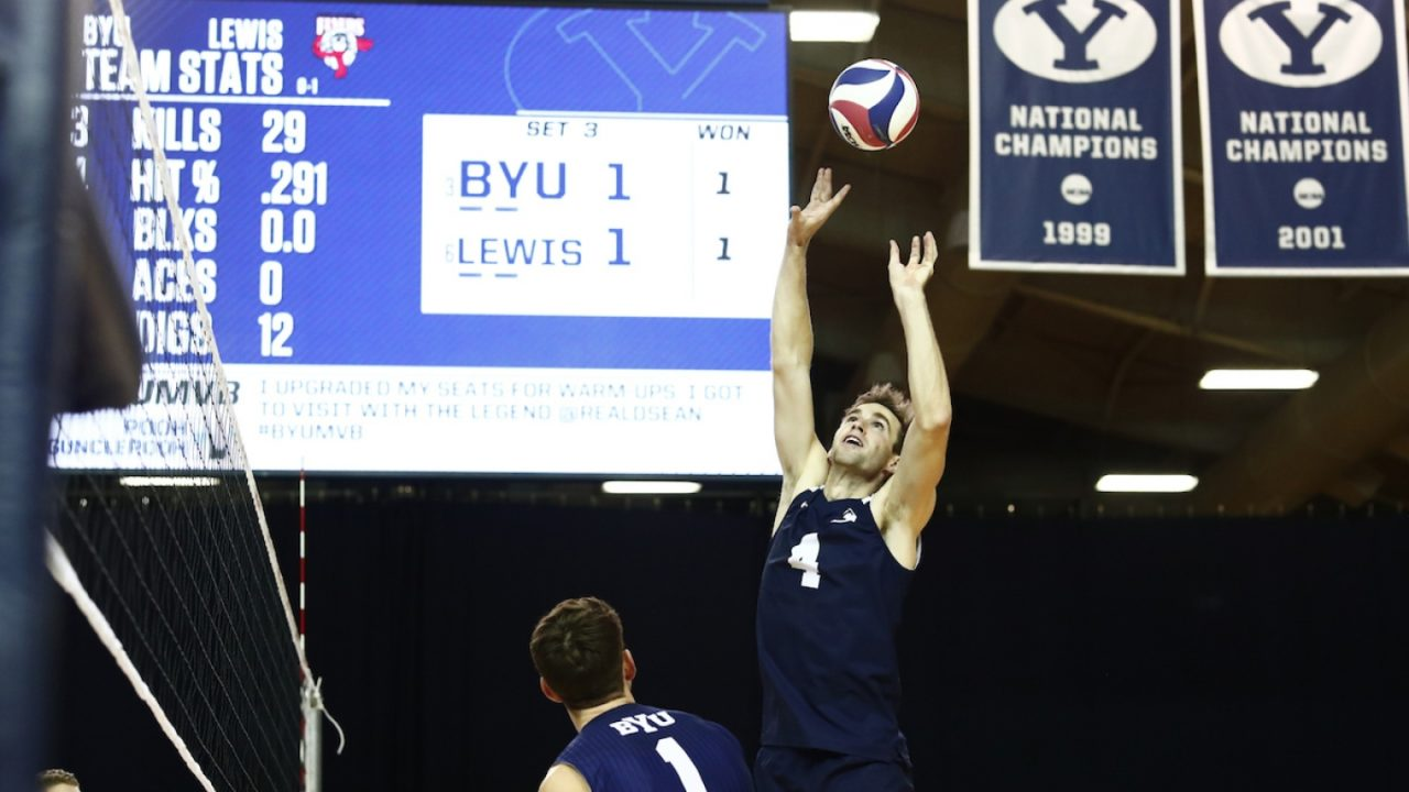BYU Makes the Jump to the Top 3; VolleyMob Men's Top 20 Power Rankings (Week 3)