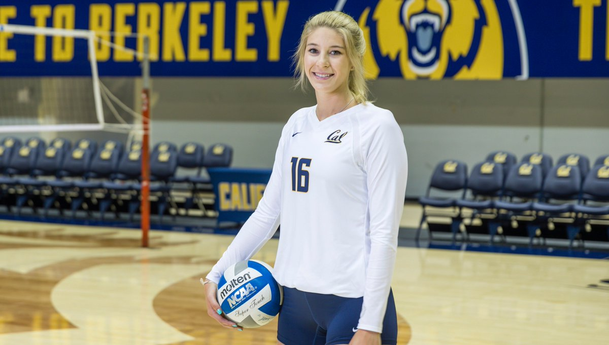 Cal Volleyball's Savannah Rennie is Cancer Free, Primed for Comeback