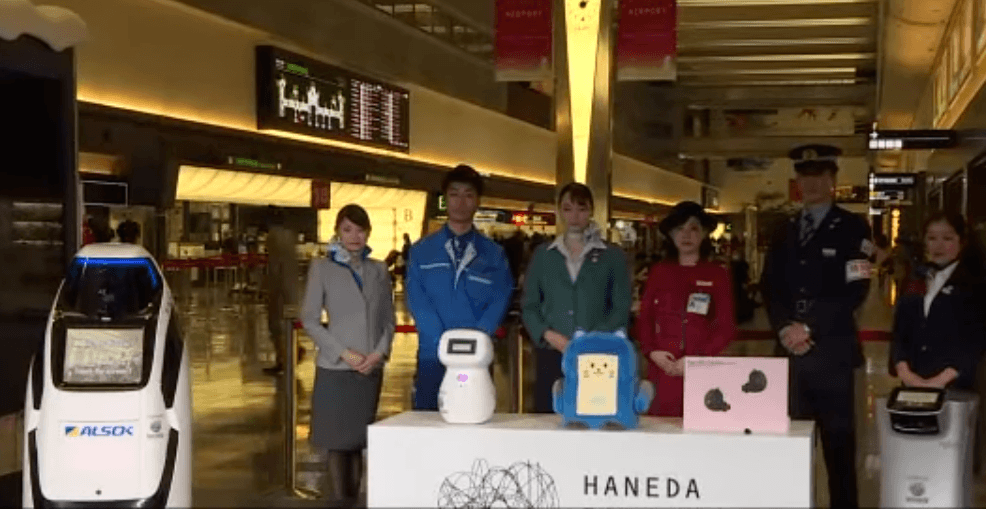 Tokyo 2020 Travelers To Be Greeted By Airport Robots