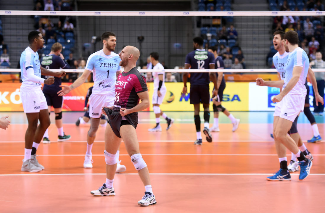 Russian Libero Alexei Verbov Scores First Point Of 20 Year old Career