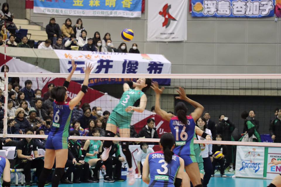 Japan Women: Hisamitsu 19-0, Clinch Regular Season Title