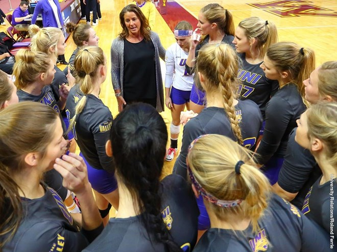 Northern Iowa Volleyball is 24-2 in MVC Conference Openers