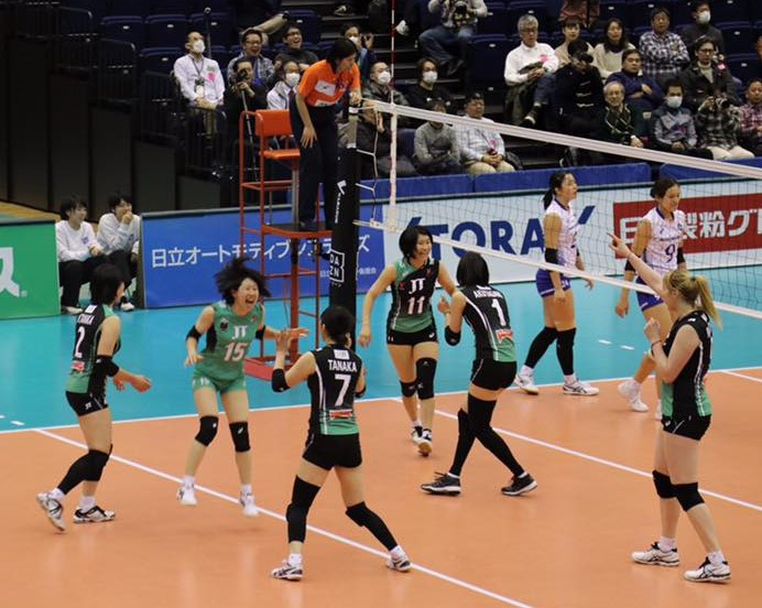 Japan Women: Hisamitsu 17-0 with 4 Matches Left