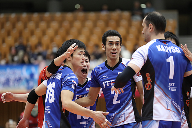 Japan Men: Suntory & JTEKT Clinch Final 6 Berth