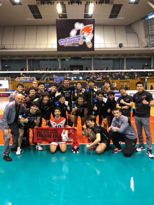 Japan Men: Trefuerza beat Panasonic, Thunders Clinch Final 6 Berth