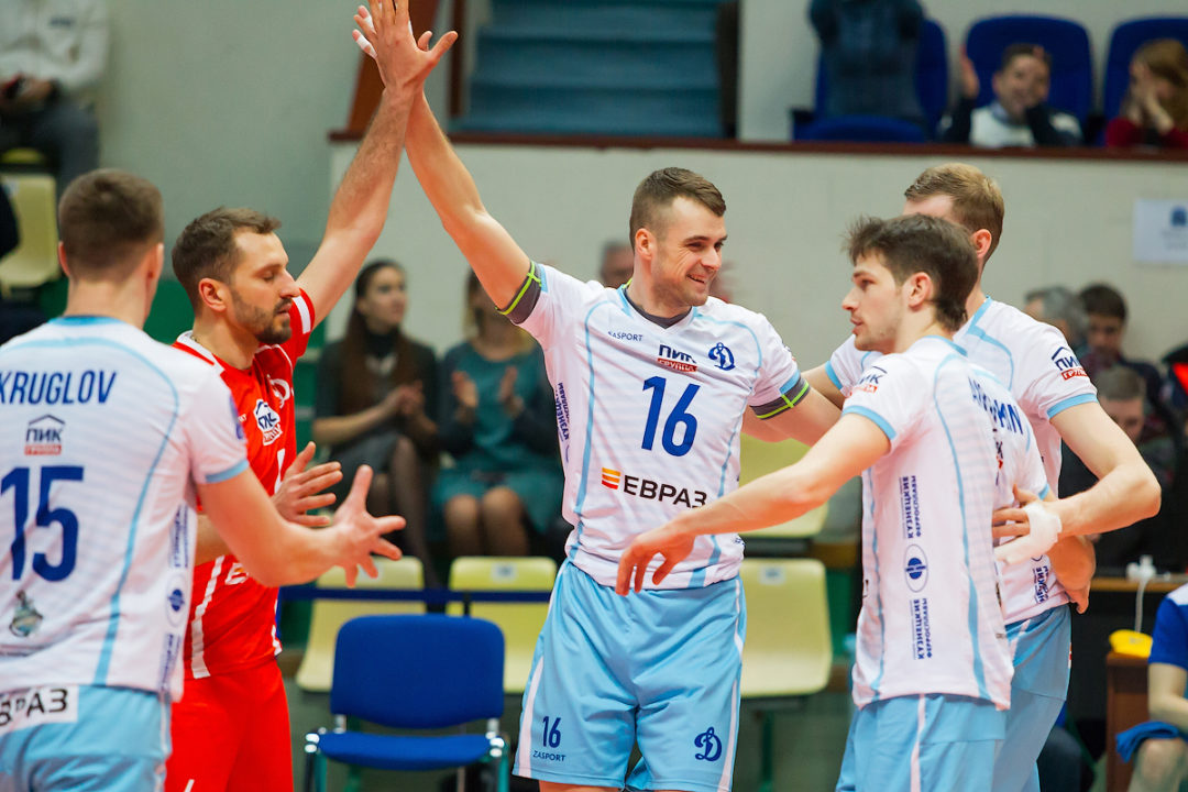Dinamo Moscow Earns First Win In Champions League Over Chaumont VB 52