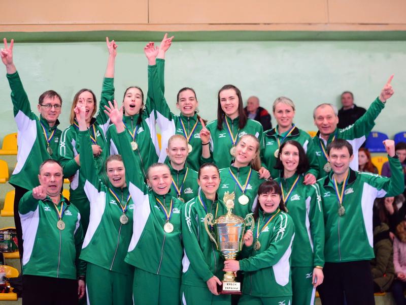Khimik Yunzhny Wins Its 5th Women's Ukrainian Cup