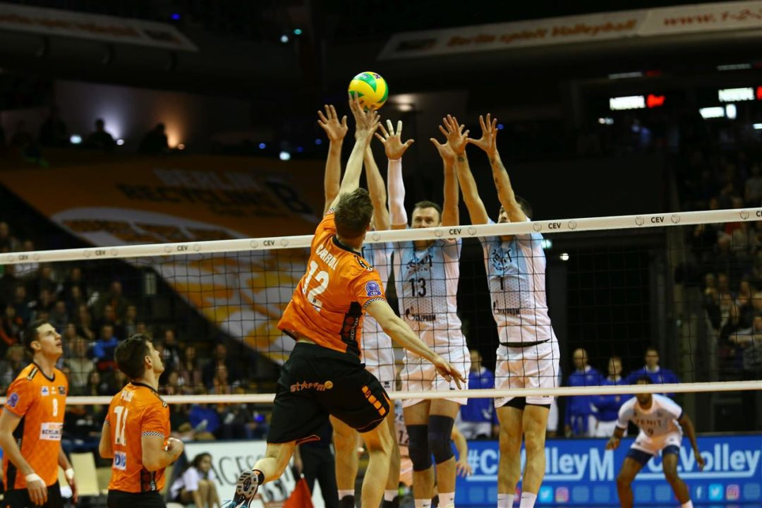 Zenit Kazan Holds On For Win Over Berlin In Champions League