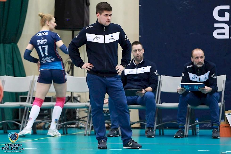 17-1 Chemik Police Fires Head Coach Jakub Gluszak