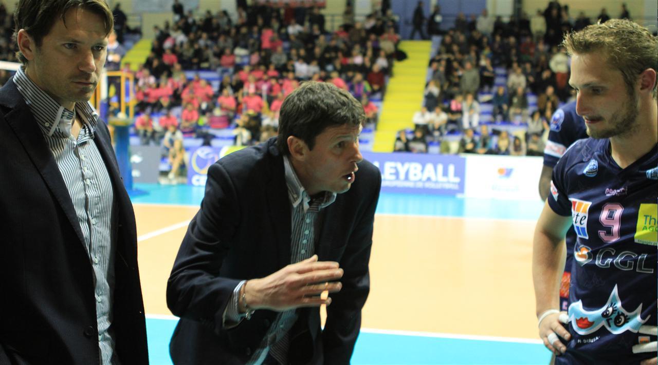 (FRA) Tours VB Announces Patrick Duflos As Its New Head Coach