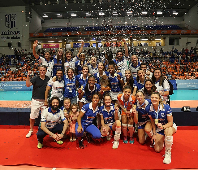 Camponesa/Minas Wins The 2018 South American Club Championship