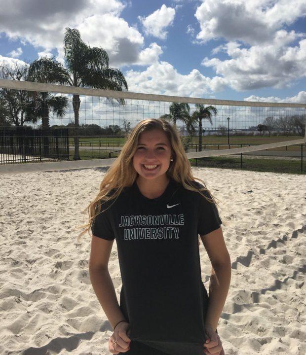 Class of 2019 Recruit Grace Davis Commits to Jacksonville Indoor/Beach