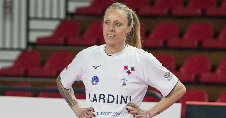 Lardini Filottrano's Captain, Chiara Negrini, Announces Pregnancy