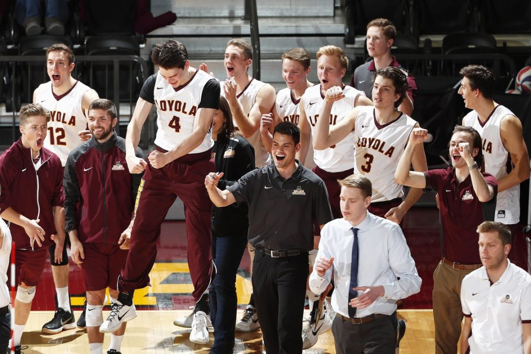 Loyola Rallies from Down 0-2 to Upset No. 4 Ohio State in Five