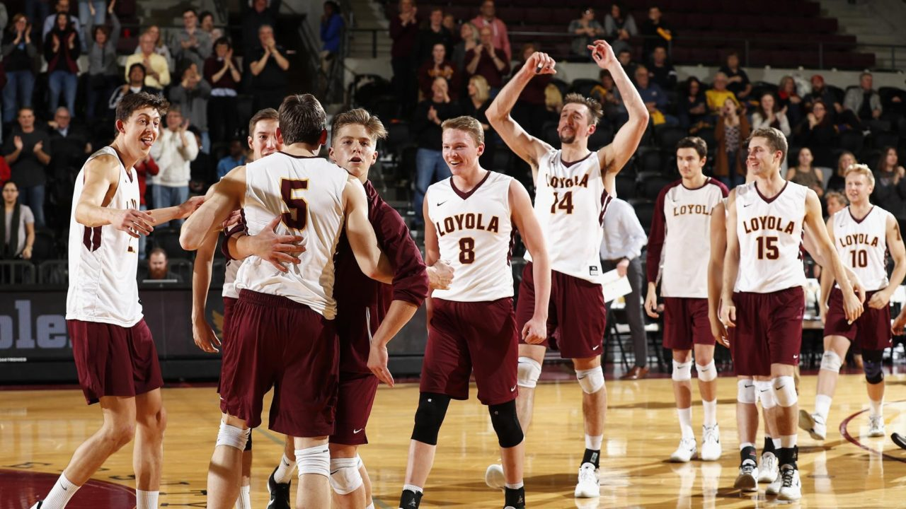 #5 Loyola Gets Revenge Over #12 Ball State in a Sweep