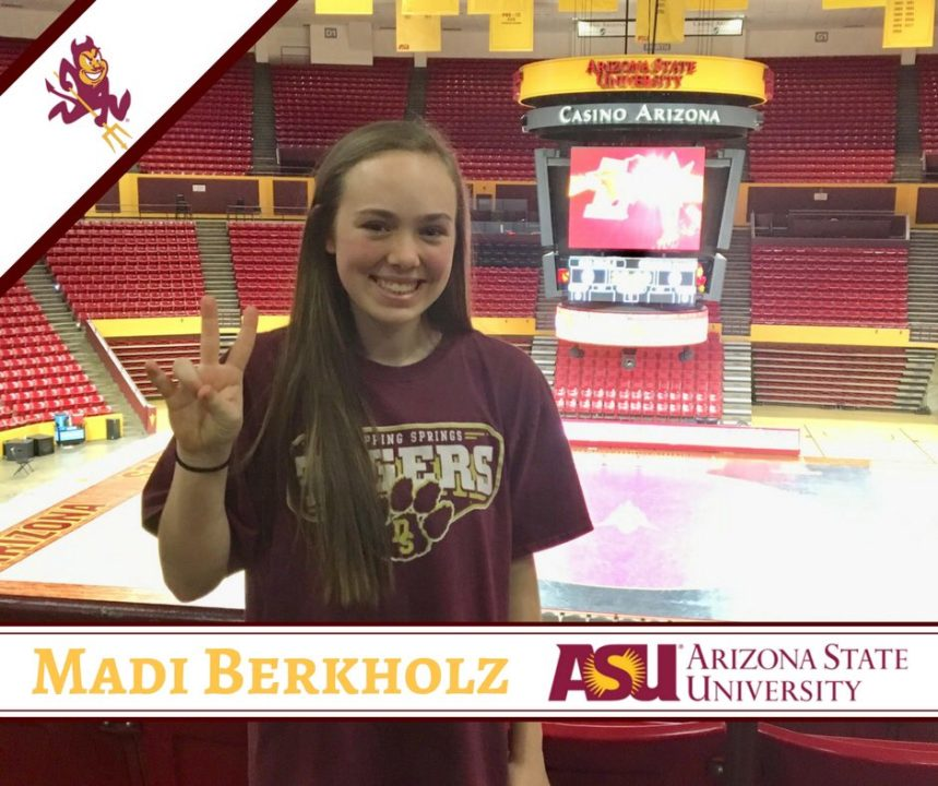 2019 DS/L Madi Berkholz Commits to Arizona State