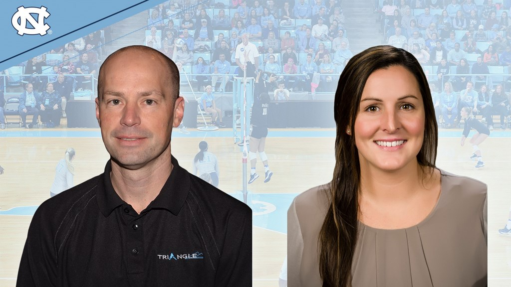 North Carolina Volleyball Hires 2 New Assistant Coaches