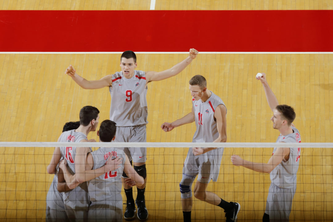 A Late Surge From Ohio State; VolleyMob Men's Top 20 Power Rankings (Week 14)