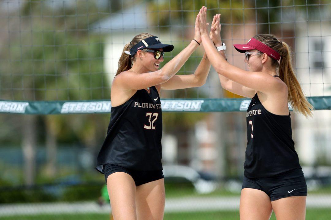 VolleyMob Beach Pair of the Week: Florida State's Goncalves/Putt