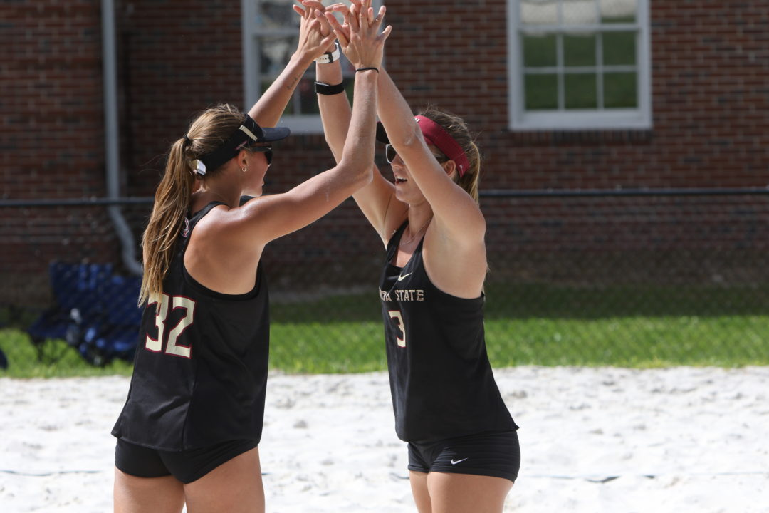 Beach Stays Perfect in First Day of Seminole Beach Battle