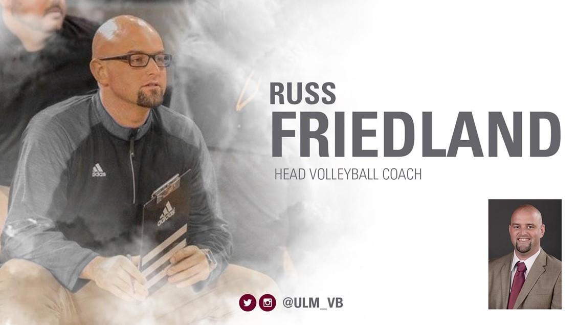 ULM Hires Russ Friedland as New Head Coach