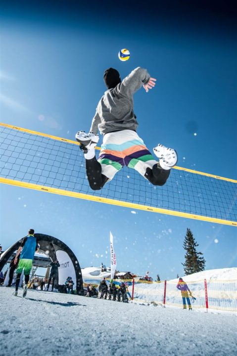 Snow Volleyball Exhibition Match Success In PyeongChang