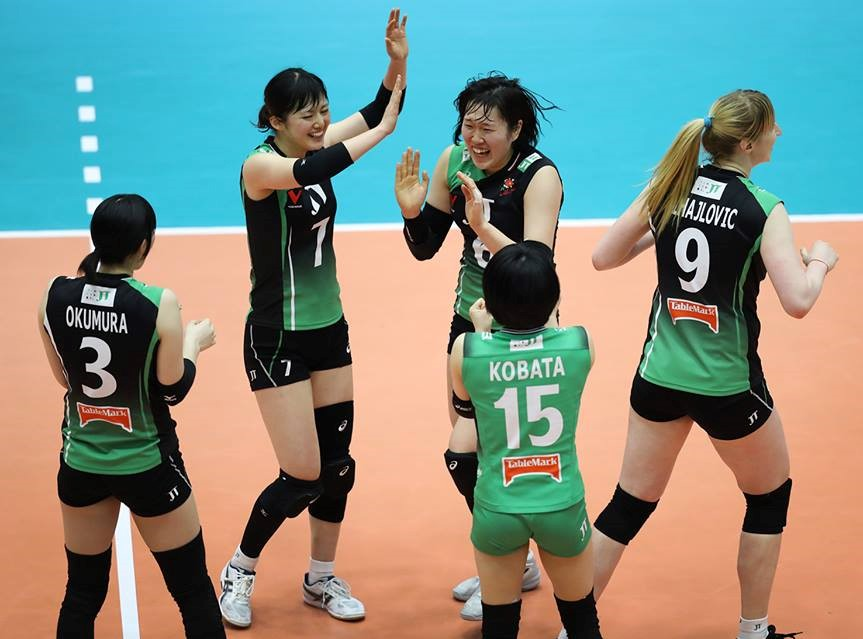 Japan Women: No Stopping Hisamitsu & JT Marvelous Win in 5