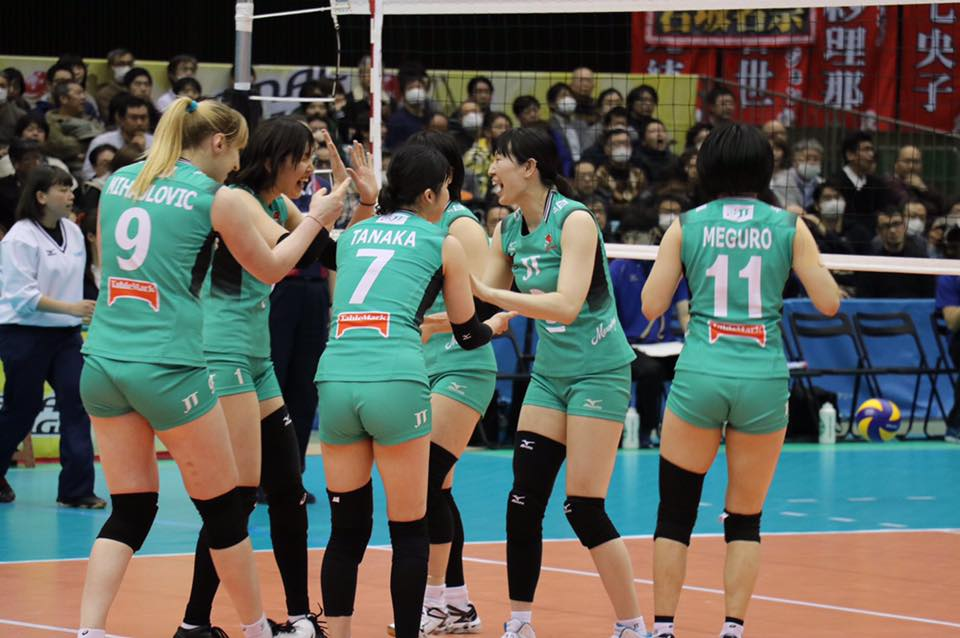 Japan Women: JT Marvelous End Hisamitsu's Streak & Go to Final