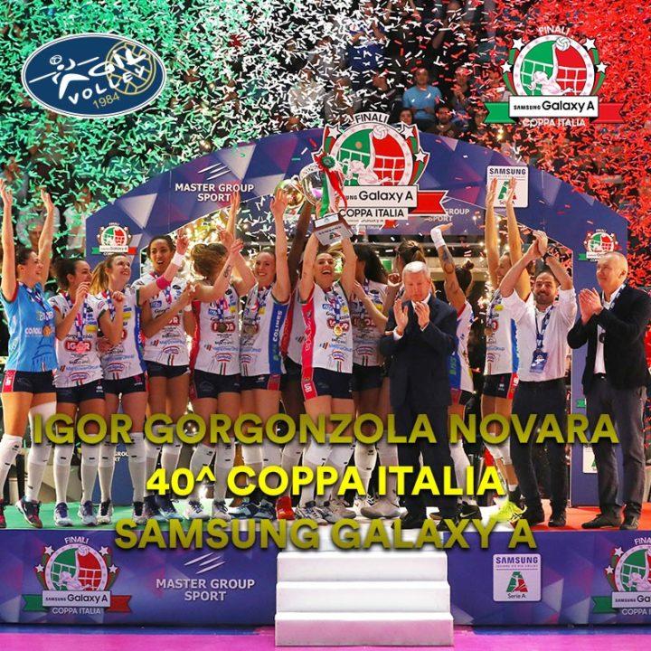 Igor Novara Beats Imoco Conegliano And Wins Italian Cup