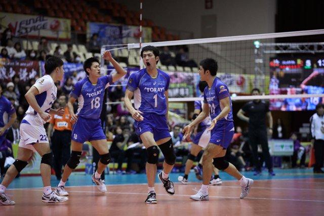 Japan Men: Panasonic sweep Suntory in Final 6