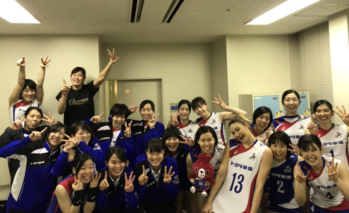 Japan Women: Queenseis Clinch Final 3 Berth, Then Win