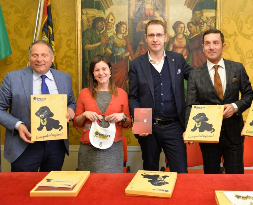 Babies Born In Conegliano Will Be Gifted Team Memorabilia From Now On