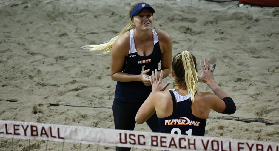 UCLA, Pepperdine Beach Shocks #1 USC With Wins In Wednesday Contest