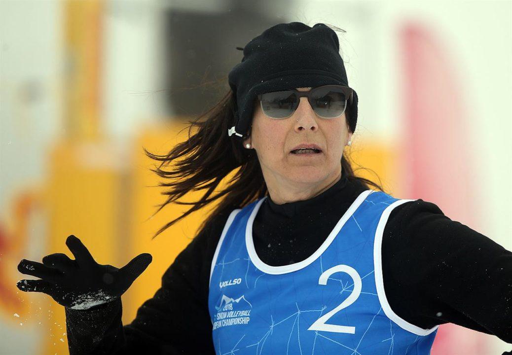 Beach Volleyball Pioneer Cristina Parenzan Talks About Snow Volleyball